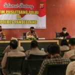 Tim Puslitbang Mabes Polri Kunjungi Mapolres Pandeglang