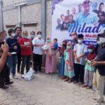 Harlah Ke 3 Juaramedia Gandeng Lembaga Sosial Kemanusiaan, Santuni Yatim Dan Tebar Paket Sembako Untuk Dhuafa di Lebak