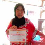Yayasan Prima Kolaborasi Dengan Zis Indosat Salurkan Bantuan Modal Usaha Untuk Pelaku UMKM Di Lebak