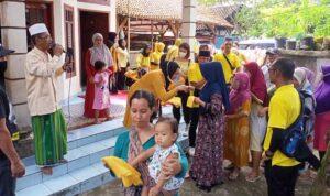 Cakades Kalanganyar Nomor 1 Beni Sutisna Bertepatan Kampanye Berikan Santunan Pada Anak Yatim